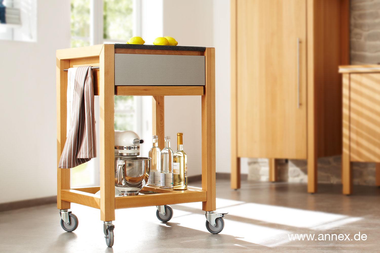 annex k chenwagen opus aus massivholz. Black Bedroom Furniture Sets. Home Design Ideas