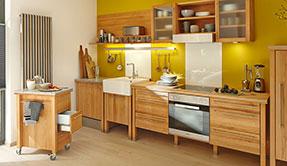 Freistehende Massivholzküchen Modulküchen von annex
