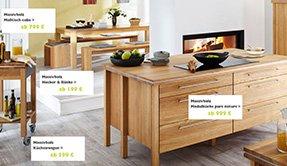 Annex Küchen freistehende massivholz modulküchen annex