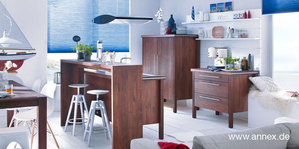 massivholzk che modul. Black Bedroom Furniture Sets. Home Design Ideas
