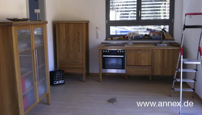 Freistehende Modulküche