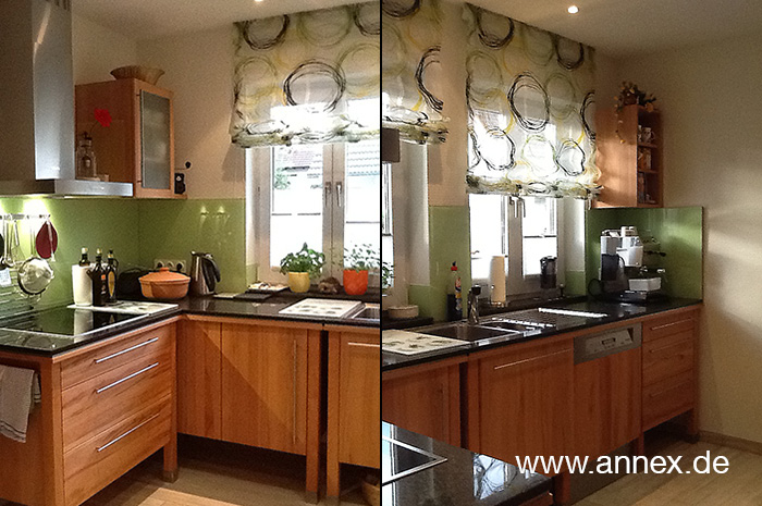 annex Holzküche in modularem Konzept