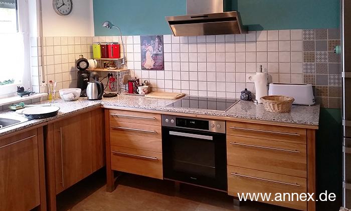 annex Küche aus massiver Buche Düsseldorf
