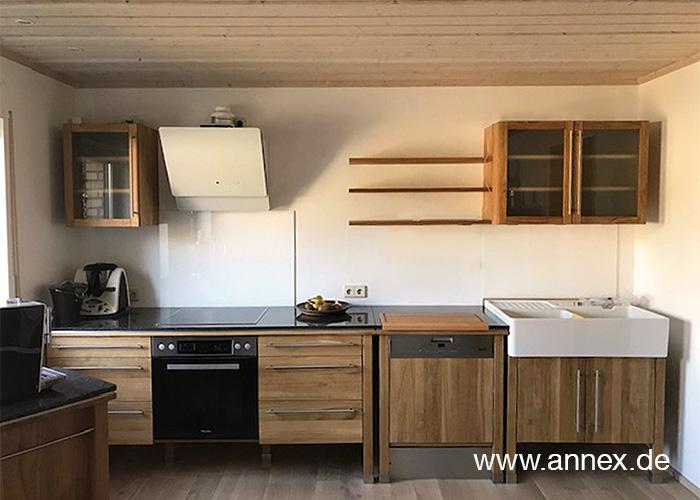 annex moderne Holzküche Eiche Wolfsburg