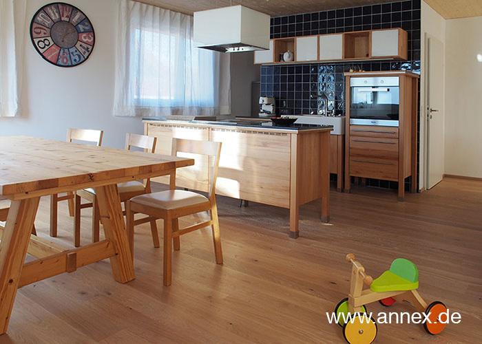 annex moderne Holzküche