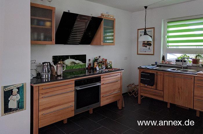 annex moderne modulare Holzküche