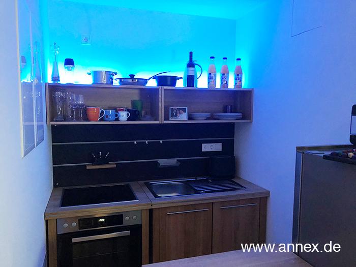 annex moderne Singleküche aus Holz Dortmund