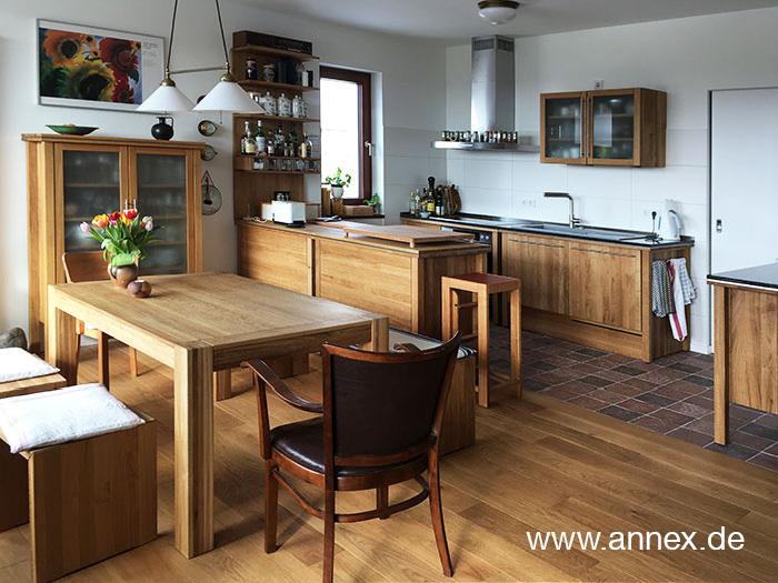 annex Modulküche Eiche massiv