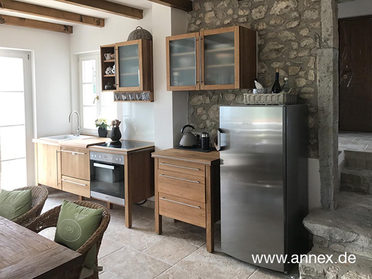 annex Modulküche aus Eiche antik in Italien