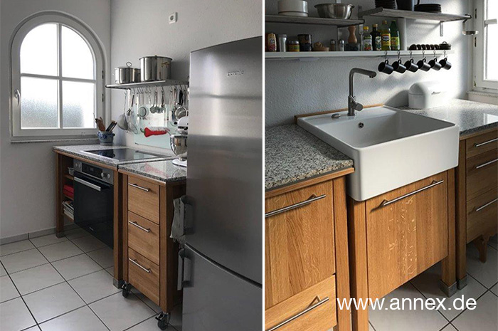 annex Modulküche freistehend