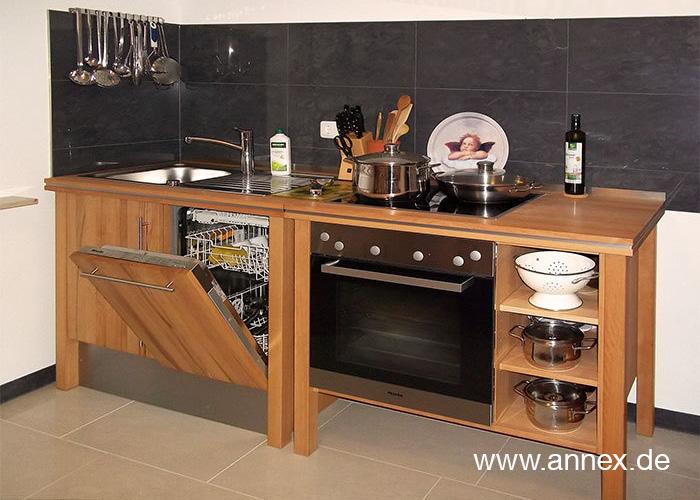 Naturholz Küchenelemente