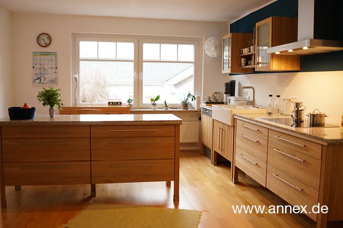 annex Naturholzküche Buche in Münster