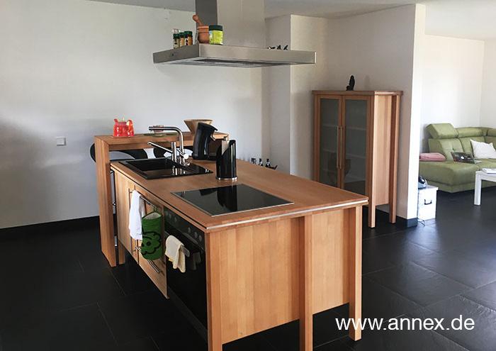 annex Wohnküche mit Kochinsel Düsseldorf