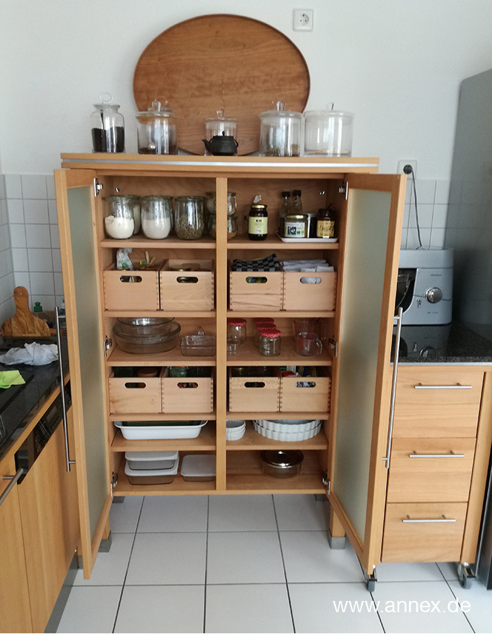 nachhaltige annex Massivholzküche