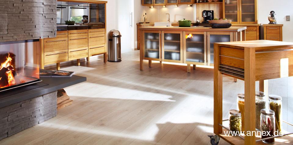 Massivholz Küchenwagen - Butcherblocks - Servierwagen