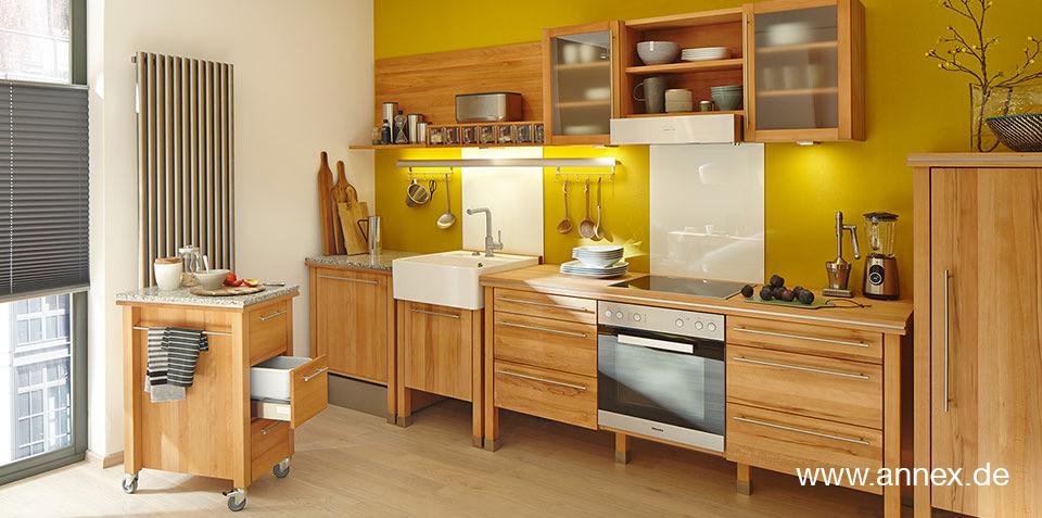 modulare Massivholzküchen von annex